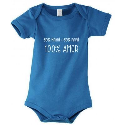 Body Bebé con Mensaje 100% Amor