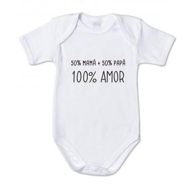 Body Bebé 100% Amor