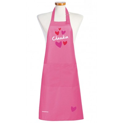 Tablier Love Personnalisé, le tablier de cuisine femme chic