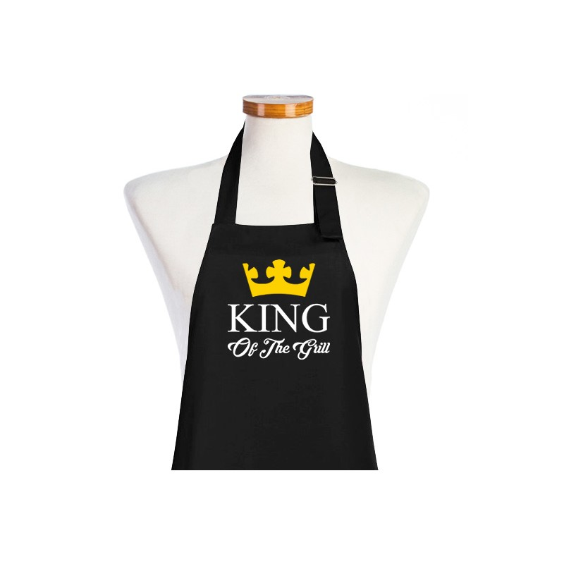 Tablier king of the grill tablier barbecue tablier de for Tuto tablier cuisine homme