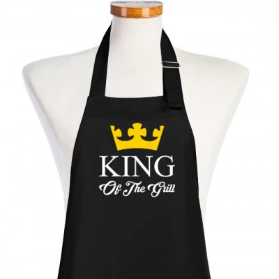 Delantal King of the Grill