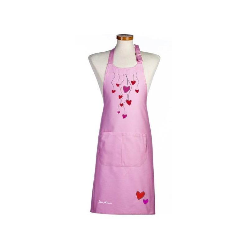 delantal rosa