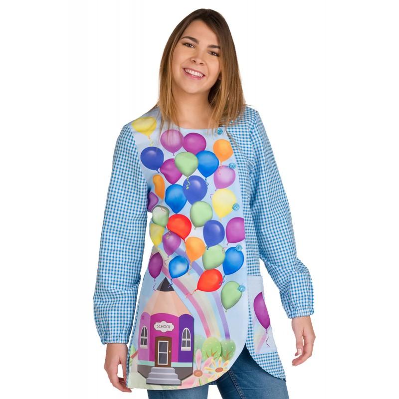blouse pour creche Ballons