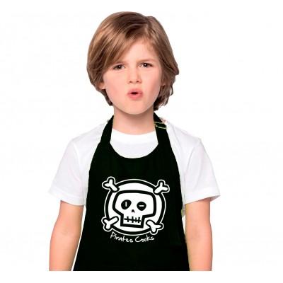 Tablier Enfant Pirate en Cuisine
