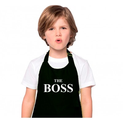 """Tablier Enfant """"The Boss"""""""