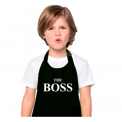 "Tablier Enfant ""The Boss"""