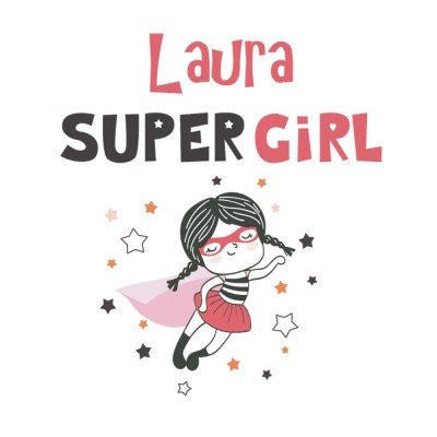 Tote Bag Super Girl