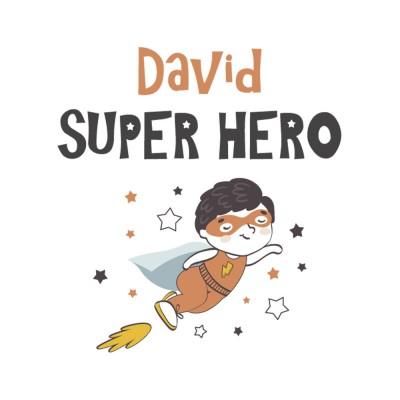 Tote Bag Personnalisé Super Hero