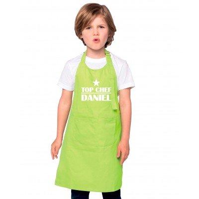 Tablier Enfant Personnalisé Top Chef