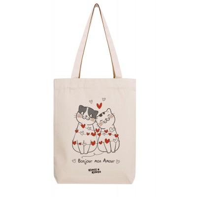 Tote Bag Bonjour Mon Amour