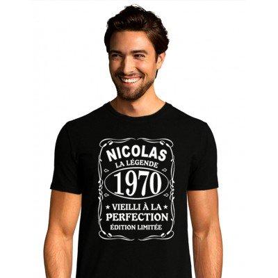 T-Shirt la Légende Personnalisé