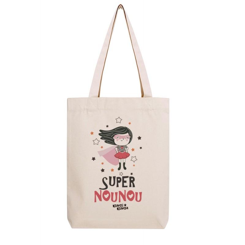 Tote Bag Super Nounou
