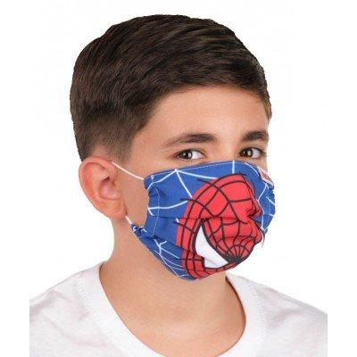 Mascarilla Infantil Homologada Spiderman