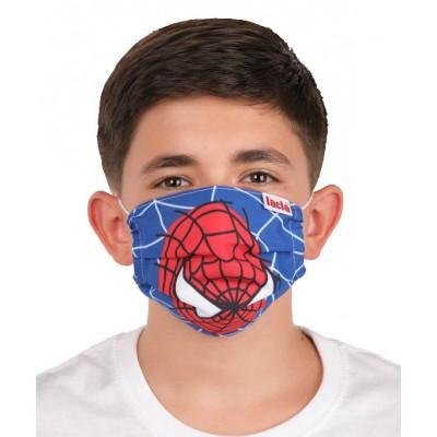 Mascarillas para niños con dibujo de spiderman