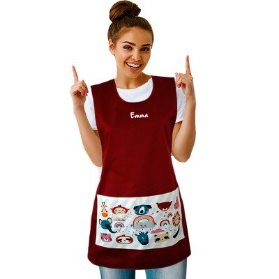 Tablier Chasuble Bordeaux