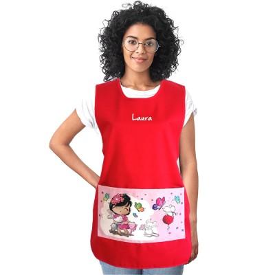 Estola Maestra Primavera Roja