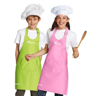 delantal y gorro cocinero niño