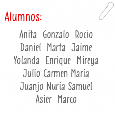 Names of Students