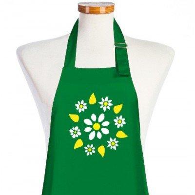 delantales de cocina flores