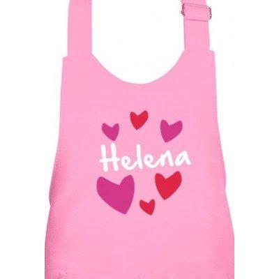 Delantal Infantil Love Personalizado