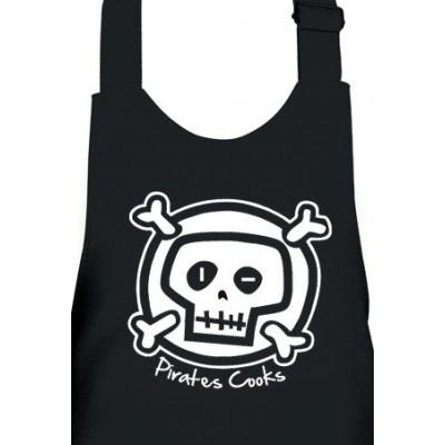 Delantal Infantil Pirata en la Cocina