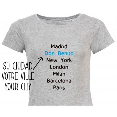 Camiseta City Mujer Personalizada