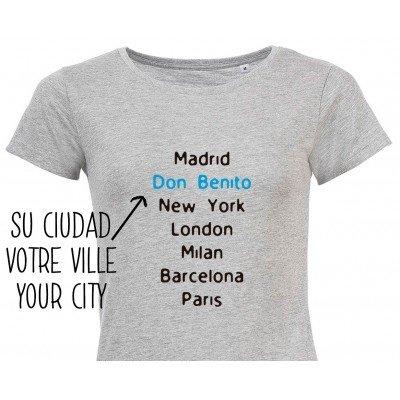T-Shirt City Femme