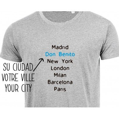 T-Shirt City Homme