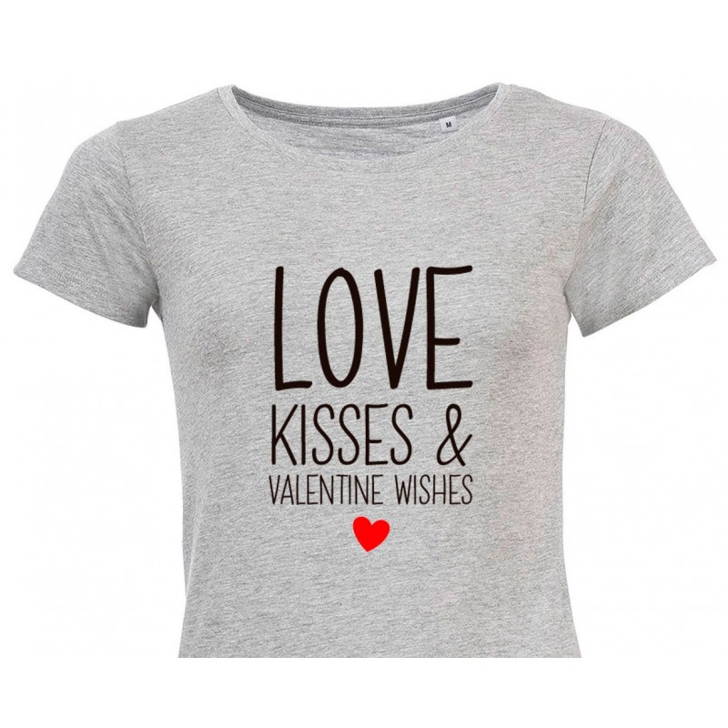 Camiseta Love & Kisses