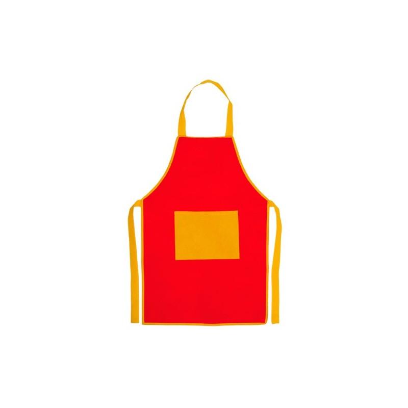 Delantal Infantil Barato Rojo