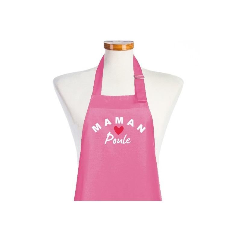 Tablier de Cuisine Femme Maman Poule