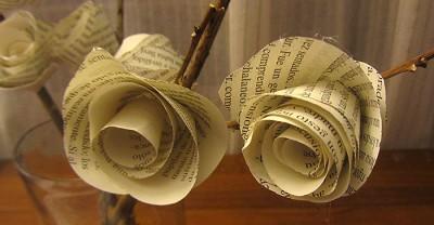 rosas-papel