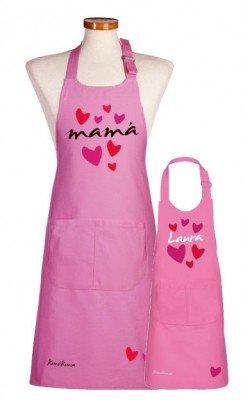 Delantal Love para el día de la madre