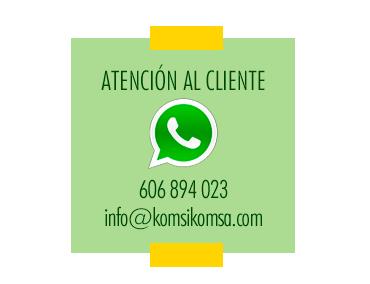 Atención al cliente KomsiKomsa